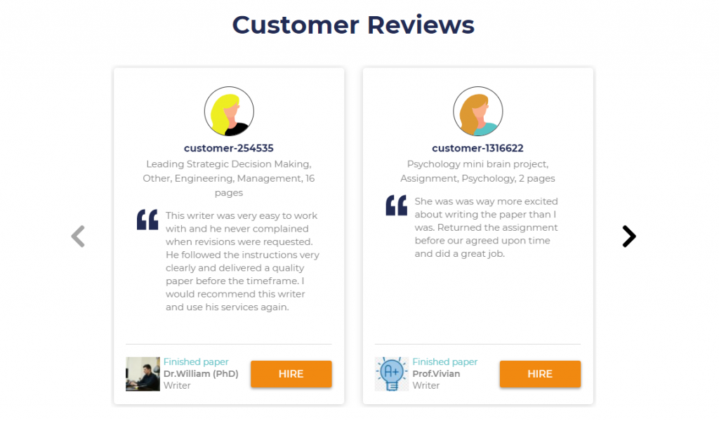 samedaypapers customers review