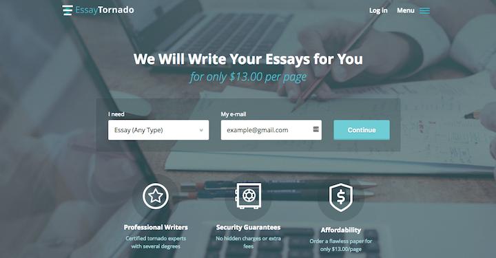 Review Of EssayTornado.com Writing Services