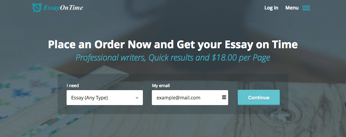 Review Of EssayOnTime.com.au Writing Services