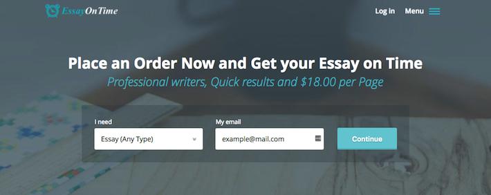 Review Of EssayOnTime.com.au Writing Services