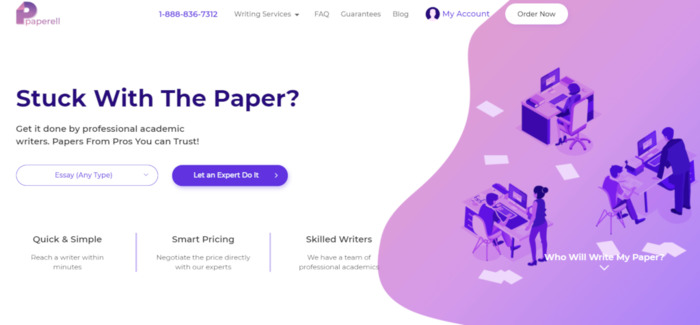 Review of Paperell.com Writing Services