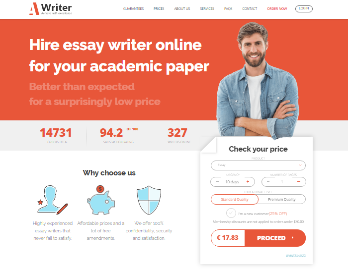 Review of A-Writer.Com: Examining The Credibility Writing Service