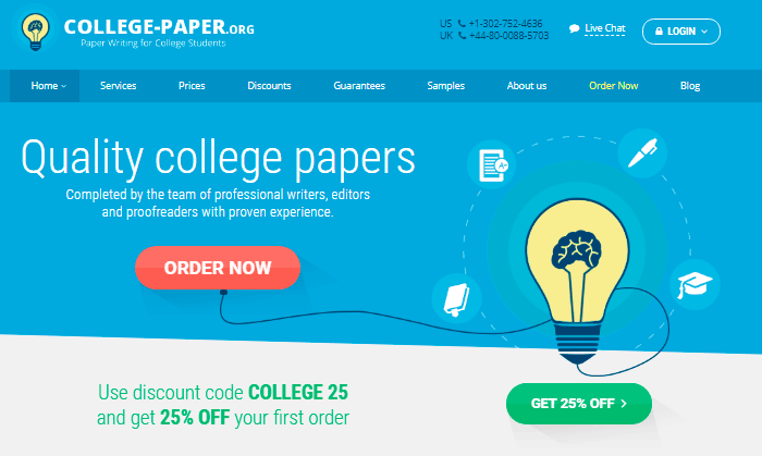 Review of College-Paper.org Writing Services