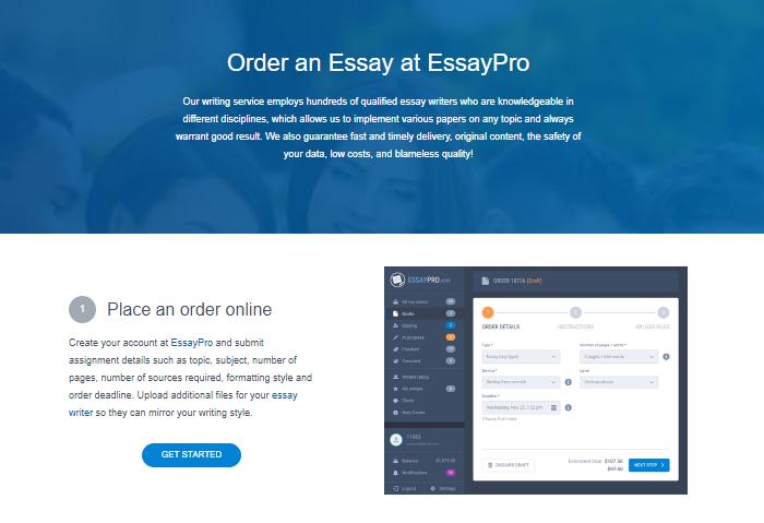 Review of EssayPro.com Writing Services