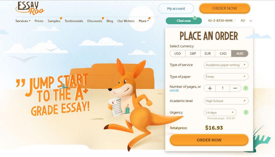 Review of EssayRoo.com Writing Services