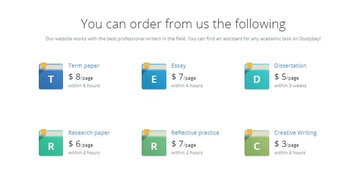 Review of Studybay.com: Honest Service