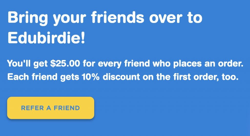 EduBirdie Referral Program