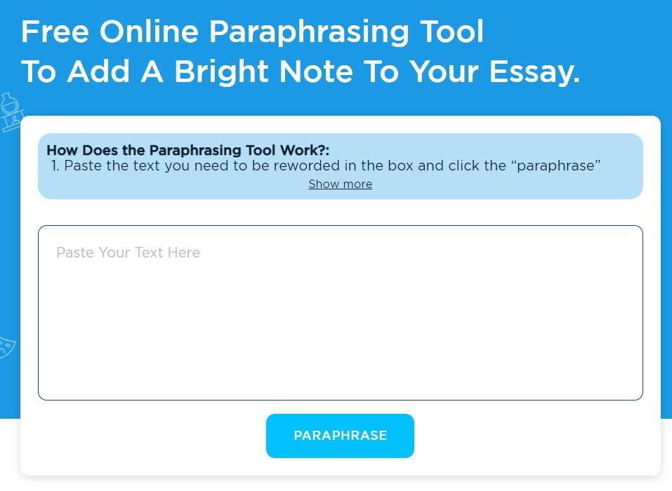 Online Paraphrasing Tool Edubirdie