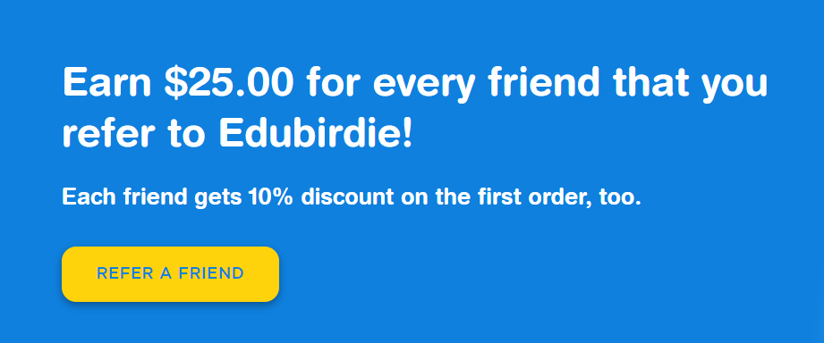 edubirdie.com review referral program