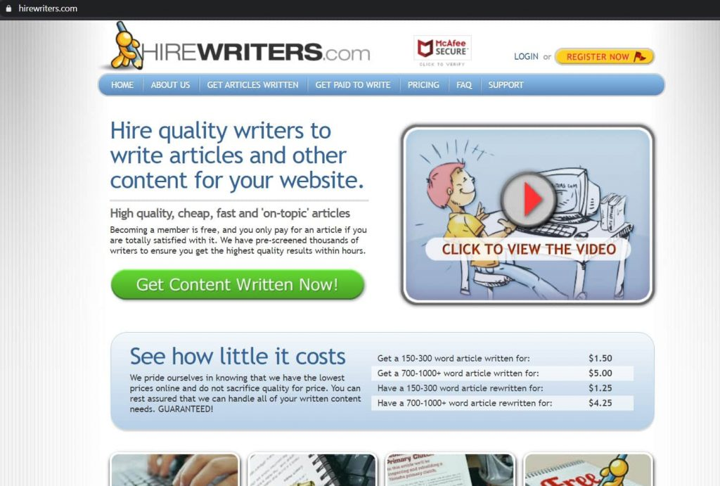About HireWriters.com